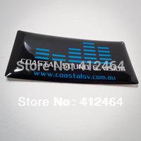 Logo Custom Sticker,crystal epoxy sticker,clear epoxy stickers