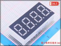 "Wholesale (100Pcs/lot) 0.36"" inch 4 Digits 7 Seven Segment Red Light LED Numeric Digital Display,Common Cathode"