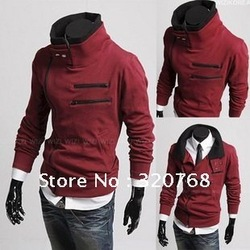 Fashion Autumn winter New Korean men&#39;s sweater Long sleeve jackets and coats male models men clothes Free shipping Hot Sale(China (Mainland))