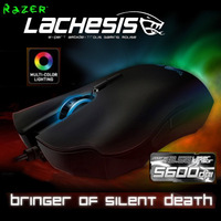 Original Razer Lachesis Gaming Mouse, 5600dpi Razer Precision 3.5G Laser sensor, Original & Brand new in BOX, Fast&Free Shipping