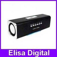 Free shipping 100% original Music Angel speaker MAUK2B Portable Speaker support u-disk+FM+TF for Mp3 Mp4 Ipod PC phone,RY9025