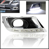 Free Shipping by EMS Daytime Running Light DRL  For Toyota Camry  High Quality Fog lamp High Quality LED Headlights