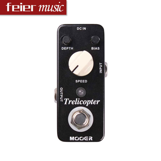 MOOER Trelicopter Guitar Effect Pedal /Optical Tremolo Pedal/ True bypass(China (Mainland))