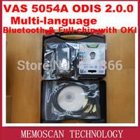 2014 New Arrival Car Diagnostic Tool vas 5054a V19 version VAS5054 VW vas5054a Bluetooth vas 5054 Support Multi-Languages