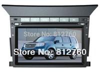 Car dvd stereo for Honda Pilot (2009-2012) with GPS Navigation,Bluetooth,Ipod,TV, Radio,RDS,V-CDC,Free GPS Map+Free shipping