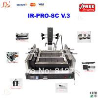 Free shipping  Hot Air Infrared LY bga  IR-PRO-SC V.3 bga rework station bga machine, also have ir6000,ir9000 welding equipment