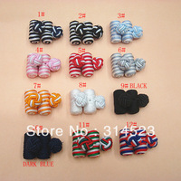 Fashion barrel knot cufflinks for shirt  free shipping 12 colors
