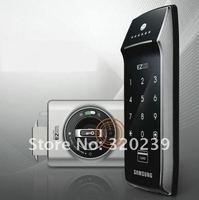Samsung Ezon SHS-2320 New Entry Keyless Fingerprint Security Digital Door Lock+2 Tag Card+3 RFID Card