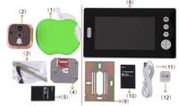 """Wireless Video intercom, video intercom system 7 """"color video doorbell"""