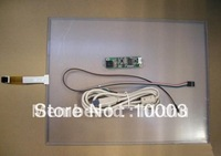 15.1 inch touch screen panel.touchscreen panel.usb touch screen .5pcs/lot,fast shipping