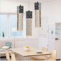 Modern style crystal bubbles column meals chandeliers/it desk lamp