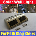 Outdoor Solar Power Step Stairs LED Light Lamp