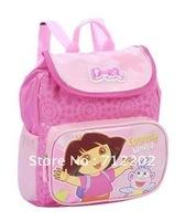 Free Shipping The schoolOpen! New Dora  baby bag  kindergarten little pink bag authentic Cute Travel CHILDREN'S School  Backpack