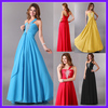 Free Shipping 1pcs/lot Grace Karin Stunning Long One shoulder Formal Dresses Wedding Bride Evening Dress 8 Size, Chiffon CL3120
