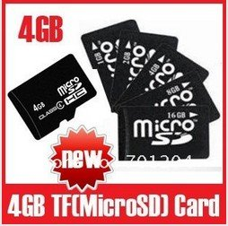 Wholesale, Full Capacity 128MB 512B 1GB 2GB 4GB 8GB 16GB SD card TF Memory Card micro sd card, Free Shipping