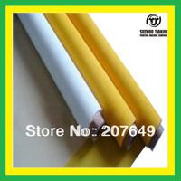 TJ Color:White,120Mesh(48T) polyester Silk screen printing mesh 1Roll=1.27M*50meter