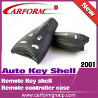 Hot sell remote controller case Original Auto Key Shell for Saab 4 Button Remote Key shell  Free shipping