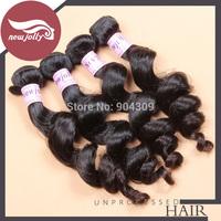 Unprocessed Malaysian loose wave virgin hair 100% natural Malaysian hair bundles 5pcs/lot cheap hair weave free shipping