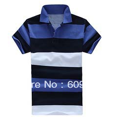 Free shipping 2012 New strip Men&#39;s polo shirts,fashion design polo shirts,Men&#39;s short sleeve golf shirts,100% Cotton,top quality(China (Mainland))