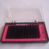 hot selling 100cases per lot Free shipping silk eyelash extensions