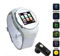 "Free shipping MQ998 Unlocked GSM Mobile Watch Phone  1.5"" Touch Screen MP3MP4"
