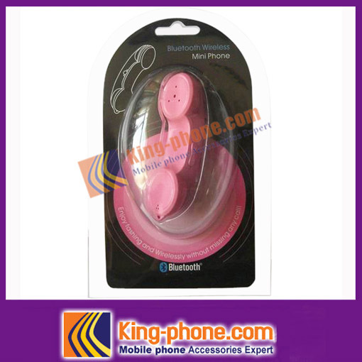 accessories for Iphone4 Bluetooth Earpiece free shipping(China (Mainland))