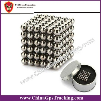 China Post Free Shipping Silver 216pcs/set D5mm NEO neocube magnet balls