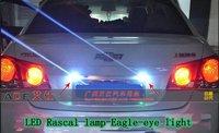 Free shipping 3W LED buld for Rascal lamp DIY DRL Fog lamp Eagle eye light with bolt 10pcs/lot Reverse lighting
