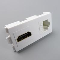1 x hdmi 1 x rj45 combine multimedia connector