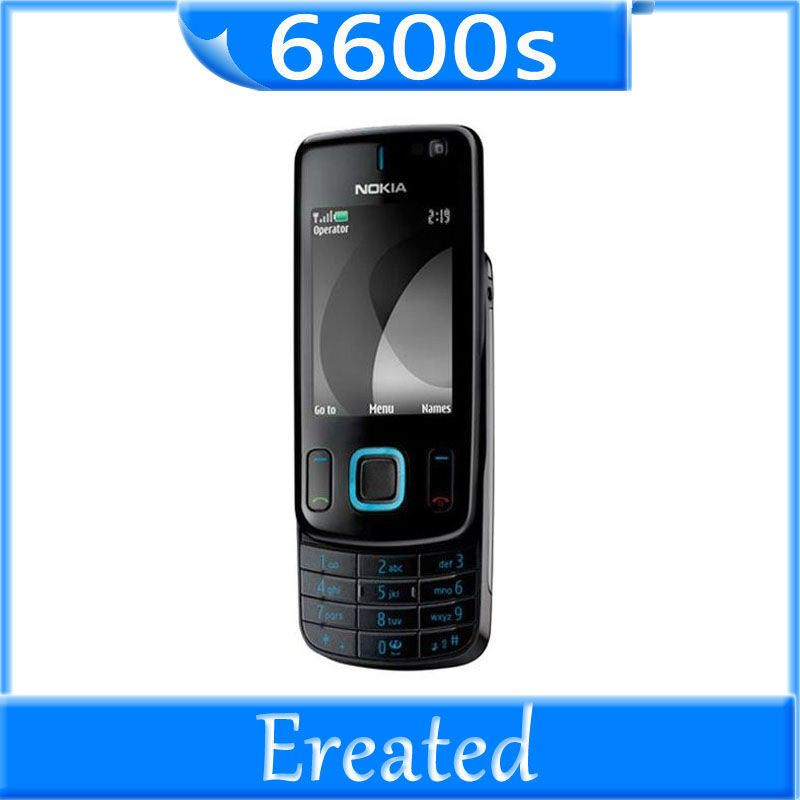 Nokia 6600s Silder original mobile phone 3.15MP java internal 18MB Quad Band 3G cell phones free shipping(China (Mainland))