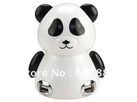 New arrival 4-Port Cutest Panda USB Hub (100pcs/ctn)
