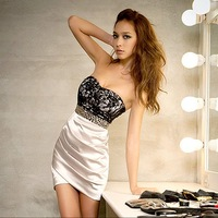 Free shipping 2014 New women's prom evening  Dress retail  Wholesale#12210