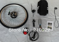 250w 36v electric bicycle conversion kit, DIY electric bike kit , bicycle engine kit with LED display,2A charger