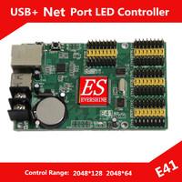 HD-E41 LED Display Controller Support  Max 256pcs P10 LED Modules USB+Ethernet Communication