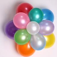 10'' Latex Free Metallic Color Balloons for Wedding Party Birthday Decorations
