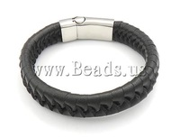 2013 Jewelry! Korean Style Fashion Genuine Leather Bracelet Mens Jewelry Wholesale!
