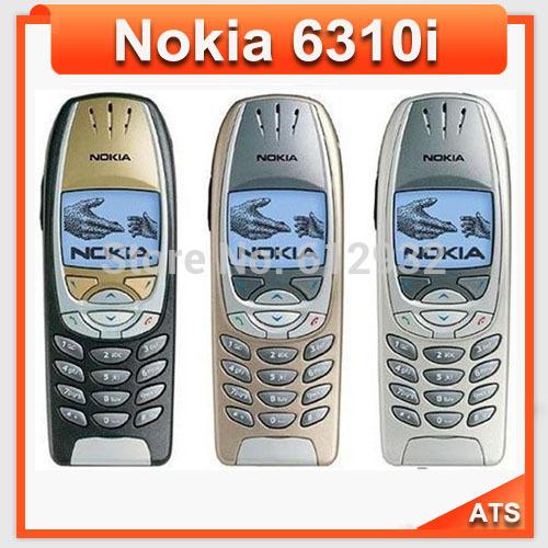 6310i Original Nokia 6310i mobile phone 6310i cell phone Russian Arabic Polish Support One Year Warranty Free Shipping(China (Mainland))