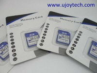Retail Package Clam Shell Style-Real & Full Capacity Class10 16GB SDHC High Quality OEM Memory Card+Free Shipping+Gifts