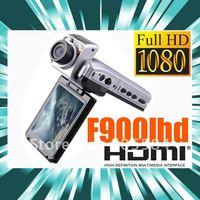 "Car dvr full hd 1920x1080p 25fps Car black box F900LHD Video Recorder with 2.5"" tft lcd 5.0M CMOS Camera dashboard DVR"