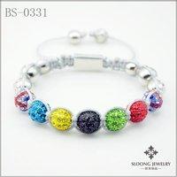 Fahion Shamballa Bracelet/ Hand-Made Shamballa Bracelet