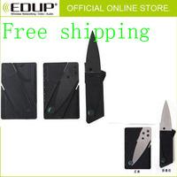 FreeShipping10XMultifunction Portable Multi-Tool Pocket Card Metal Survival Card Multi Function Survival Knife Camping Jackknife