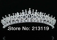 Bridal Wedding Party Quality Pageant Sparkling Austrian Crystal Tiara CT1543