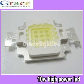 wholesale 5pcs 10W 20000k-25000k LED 45mil diode High Power cold white LED 1000LM 9V-12V 900mA  Lamp Bulb for fish tank project