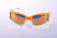 New style 26 frame colour jawbone orange white frame men's Sport Sunglasses riding Cycling glasses 3 pairs lens