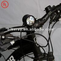 Free shipping Cree U2 1200lm super power LED Bicycle light/LED bike light+headlamp(RAY II)