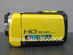 High definition16MP diving camcorder with 1080P FHD and 3.0&quot;,built-in 128MB flash memory,support to 16GB sd card(China (Mainland))