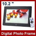 10.2 inch LCD Digital Photo Frame With 1024x768 Mp3 Mp4 Remote Control Multi-functional Picture Frame Free Shipping