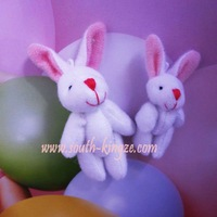 Free shipping, wholesale,100pcs/lot, Tinny rabbit  Cute rabit. stuffed rabbit. lovey bear for DIY.  4cm, 100pcs packed