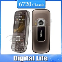 Original Nokia 6720 classic A-GPS Bluetooth Java Music Unlocked Mobile Phone Free Shipping In Stock 6720C