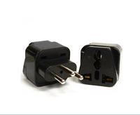 Wholesale white /black Universal AU US UK EU to BRAZIL Switzerland  Power Plug  Adapter Travel Converter Plug